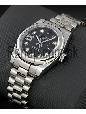 Rolex Lady-Datejust Star Diamond Dial Women's Watch Price in Pakistan