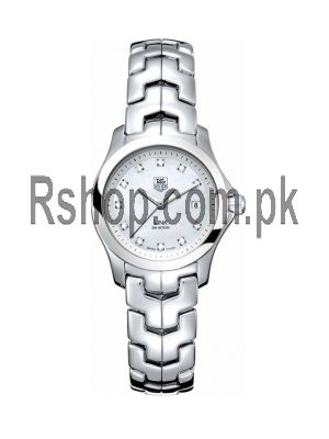 TAG Heuer Link Lady Mother of Pearl Diamond Dial Watch Price in Pakistan