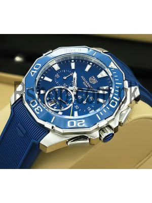 TAG Heuer Aquaracer Chronograph Blue Watch