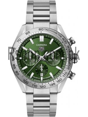 TAG Heuer Carrera Calibre Heuer 02 Green Dial Watch