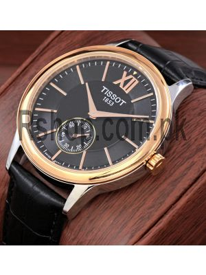 Tissot 1853 Classic Two Tone Black Dial Watch Price in Pakistan