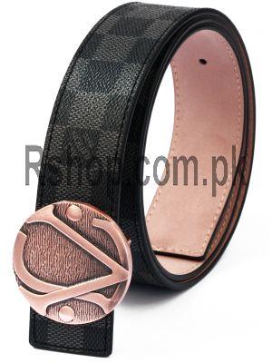 Louis Vuitton Grey Men,s Belt Price in Pakistan
