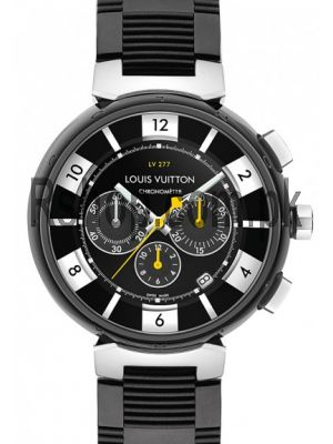 Louis Vuitton Tambour LV277 Black Watch Price in Pakistan